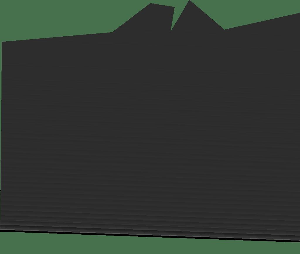 Montagne vecteur translucide