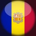 Icône drapeau andorran