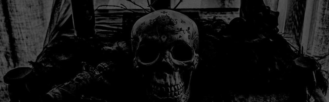 Altar Vaudou - Crâne Noir
